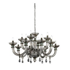 Dahlia Gray Chandelier with 12 Lights