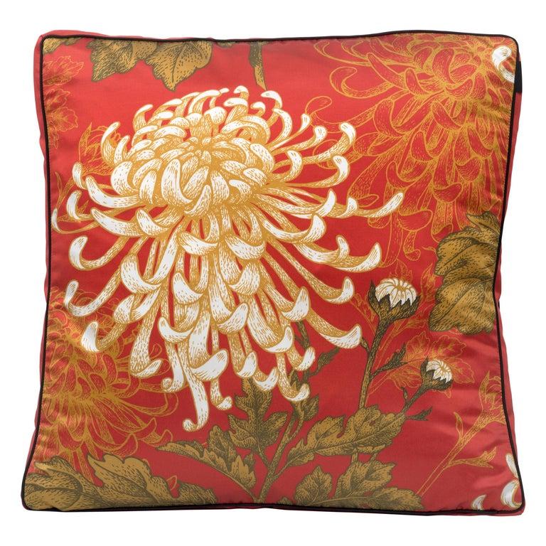 Dahlia Pillow For Sale