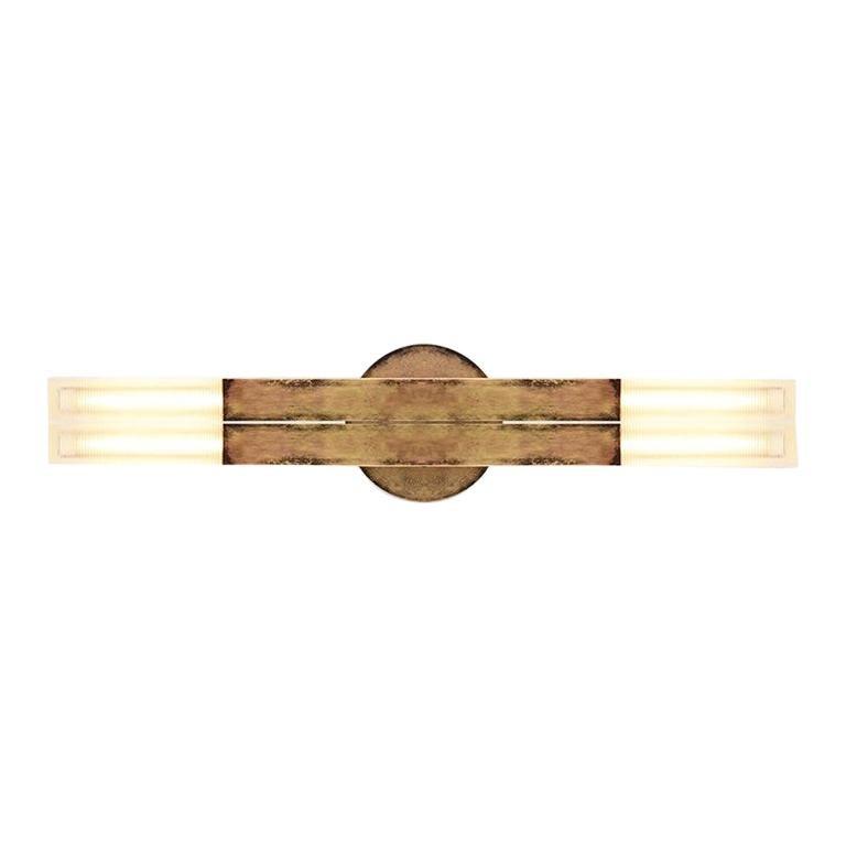Daikon POST  KoKo Scone  Large  Brass Modern Sconce Light For Sale