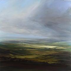 Changing Light - original landscape painting Contemporary 21st Century Art