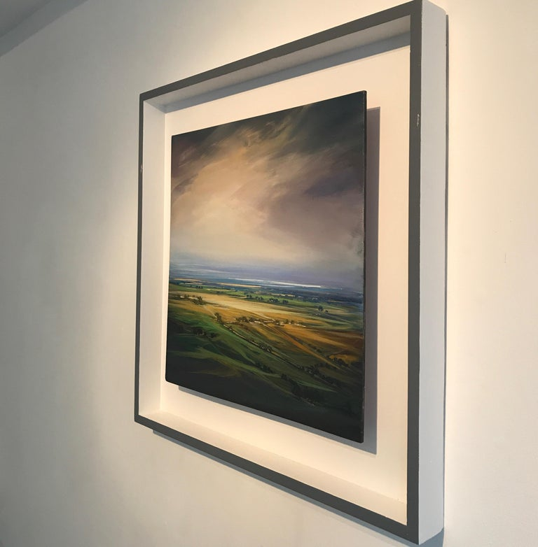 The original painting by Dairo Vargas is framed, stringed and ready to be displayed.     Colombian-born Dairo Vargas' passion for art began at an early age. Inspiration and encouragement nurtured his confidence. Since accepting his first commission