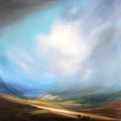 Escape original abstract landscape painting