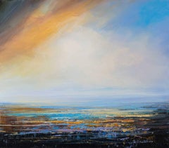 Poetry of Light  abstract landscape painting