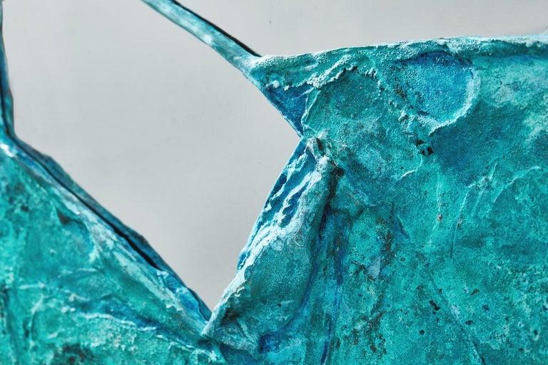 Contemporary Daishi Luo, 'Scrape 02,' Copper Mirror For Sale