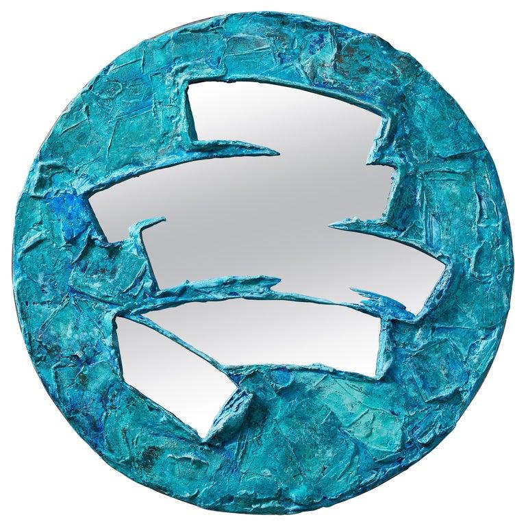 Daishi Luo, 'Scrape 02,' Copper Mirror For Sale