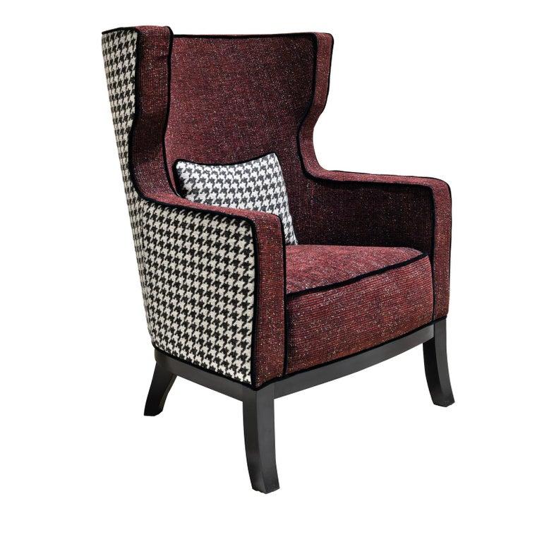Modern Daisy Armchair by Chiara Provasi For Sale