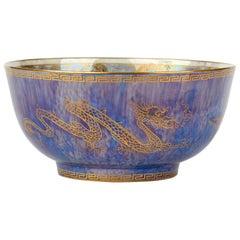 Daisy Makeig-Jones Wedgwood Celestial Dragons Lustre Bowl, circa 1925