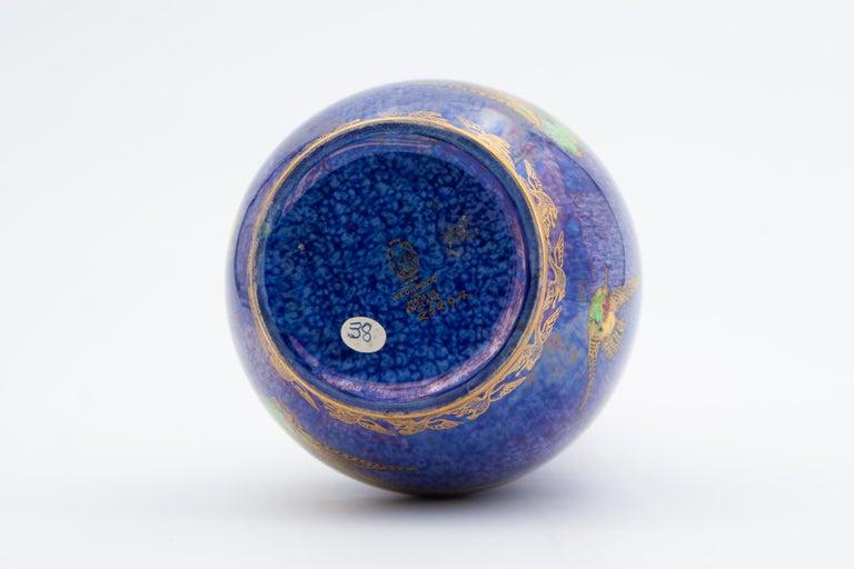 Daisy Makeig-Jones Wedgwood Hummingbird Lustre Vase For Sale 2