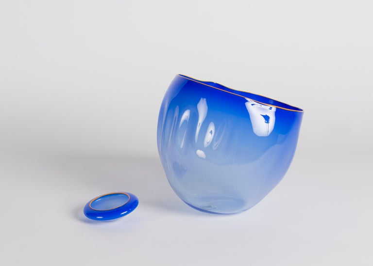 Dale Chihuly, Glass Sculpture in Two Elements, United States, Early 21st Century In Good Condition For Sale In New York, NY