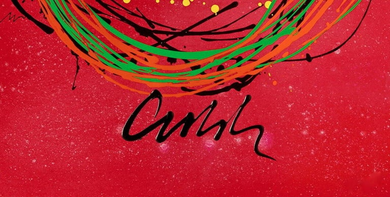 Float Series - Abstract Expressionist Print by Dale Chihuly