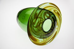 Dale Chihuly / Carpenter Early 1974 Glass Vase Signed Blown Glass Sculpture