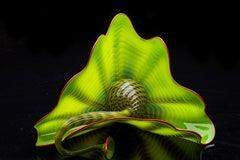 Dale Chihuly Green Persian Set Fine Glass Art Original — Signed