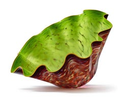 """Dale Chihuly Massive Commissioned Hand Blown Glass Macchia Sculpture 37"""""""