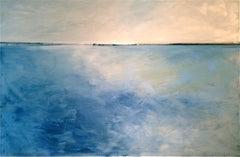 Blue Sea Landscape
