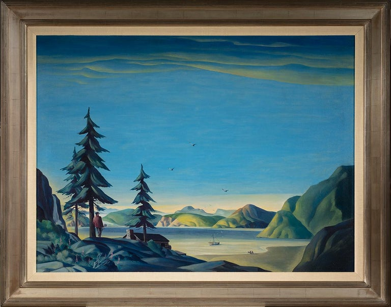 Land of the Midnight Sun - Painting by Dale Nichols