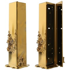 Dali Luxury Safe in Polished and Casted Brass by Boca do Lobo