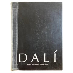 Dali The Work and the Man by Robert Descharnes Hardcover Coffee Table Art Book