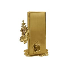 Dali Watch Winder in Polished Brass and Gold Plate '3 Watches'