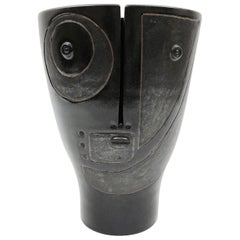 Dalo, Black Ceramic Vase