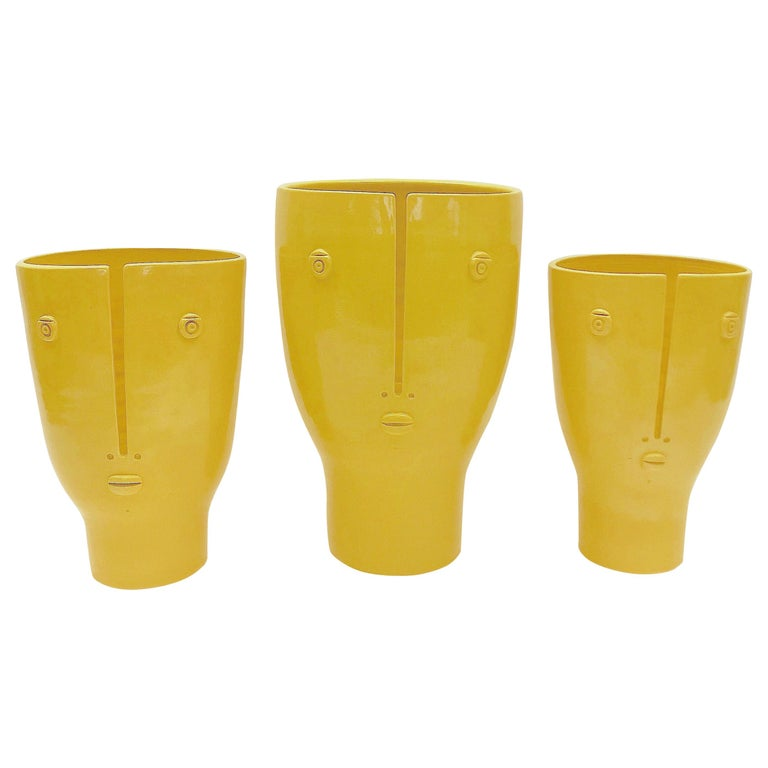 Dalo, Ceramic Idoles Vases For Sale