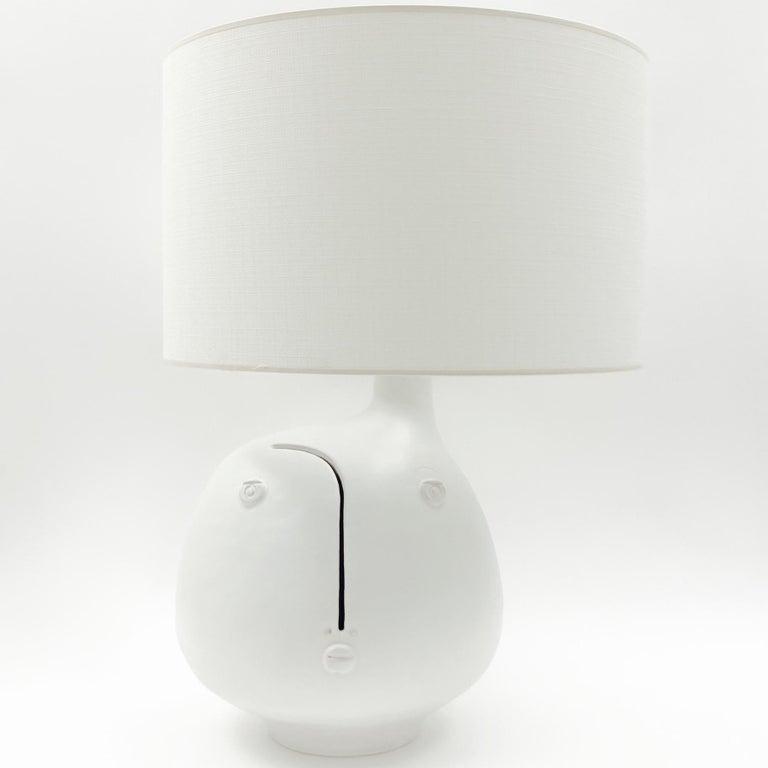 Dalo White Ceramic Table Lamp Base For Sale At 1stdibs