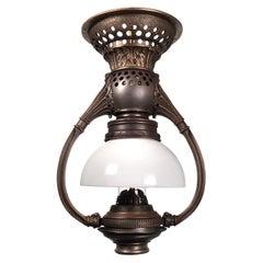 Dalton Bow Arm Pullman Car Railroad Lamp