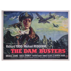 """""""The Dam Busters"""", 1955 Poster"""