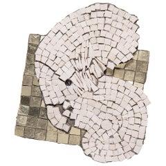 """Clouded I"" Mosaic by Toyoharu Kii"