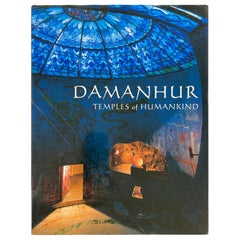 Damanhur Temples of Humankind Book by Ananas Esperide Coffee Table Art Book