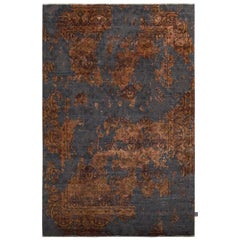 Damask Revise Burnt Rug