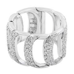 Damiani Damianissima White 18 Karat Gold Diamond 1.50 Carat Ring
