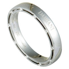 Damiani D.Side Brad Pitt White Gold 20-Diamond Band Ring