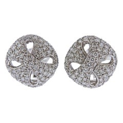 Damiani Gold Diamond Earrings