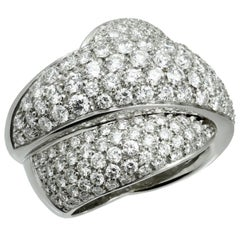 Damiani Gomitolo Diamond White Gold Ring