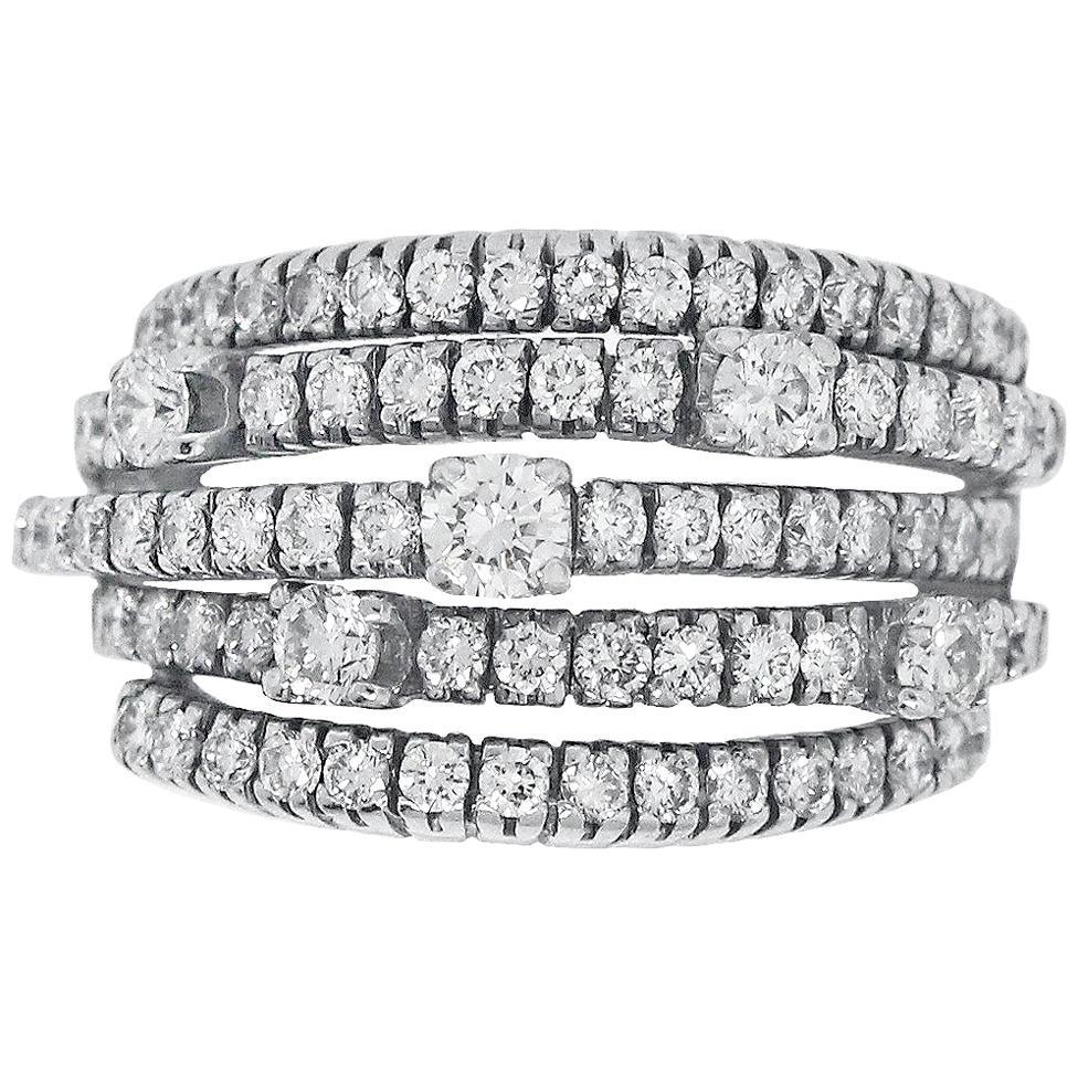 Damiani San Lorenzo Diamond Ring