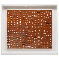 "Damien Hirst Bronze ""Pharmacy"" Wallpaper Unframed"