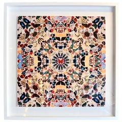 "Damien Hirst Butterfly Kaleidoscope Wallpaper ""Unframed"""