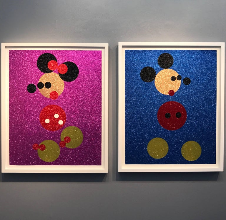 Damien Hirst, Mickey, 2016 - Contemporary Mixed Media Art by Damien Hirst
