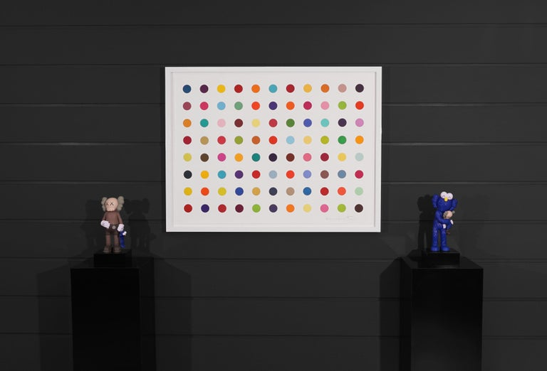 Damien Hirst, Horizontal 'Spots Series', Woodcut, 2018 - Contemporary Painting by Damien Hirst