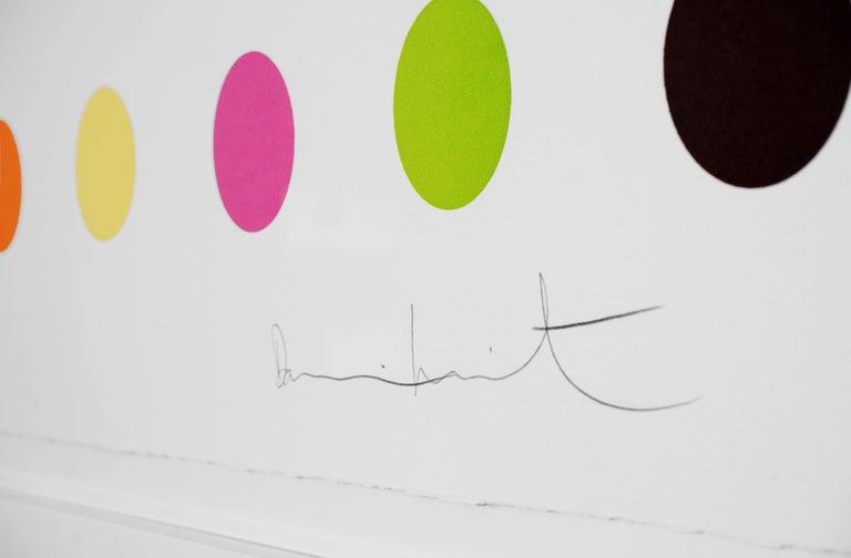 Damien Hirst, Horizontal 'Spots Series', Woodcut, 2018 1