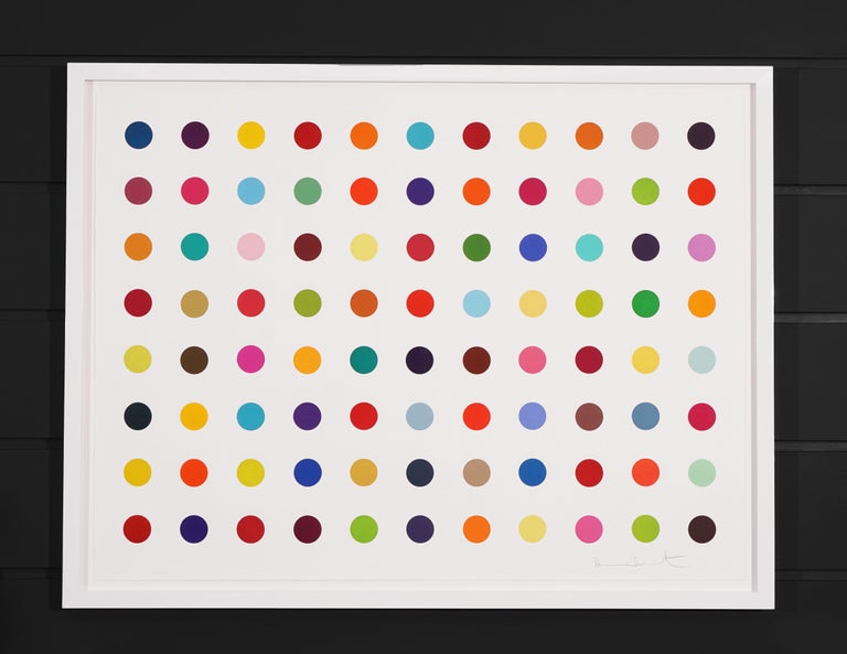 Damien Hirst, Horizontal 'Spots', Woodcut, 2018 - Contemporary Print by Damien Hirst