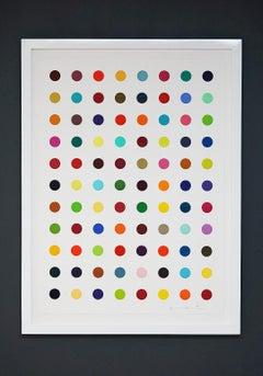 "Damien Hirst, Multi-color ""Spots"" (2018)"
