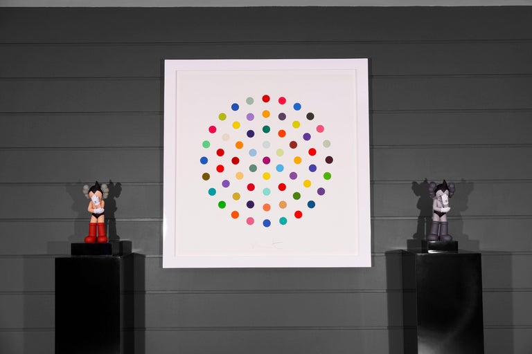 Damien Hirst, Multi-color 'Spots' Etching, 2004 For Sale 6