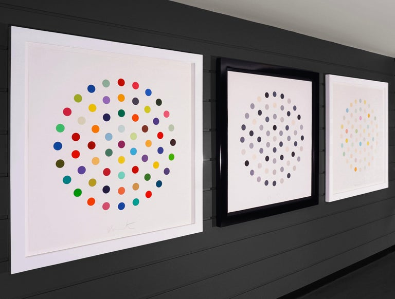 Damien Hirst, Multi-color 'Spots' Etching, 2004 For Sale 8