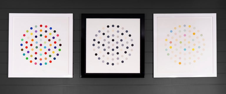 Damien Hirst, Multi-color 'Spots' Etching, 2004 For Sale 9