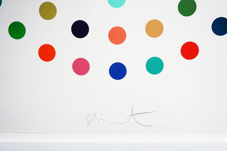 Damien Hirst, Multi-color 'Spots' Etching, 2004 - Gray Abstract Print by Damien Hirst