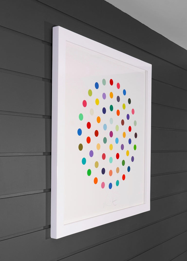 Damien Hirst, Multi-color 'Spots' Etching, 2004 For Sale 1