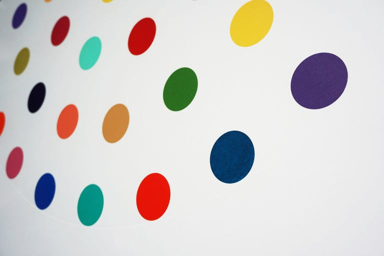 Damien Hirst, Multi-color 'Spots' Etching, 2004 For Sale 2