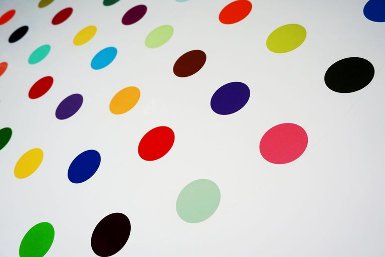 Damien Hirst, Multi-color 'Spots' Etching, 2004 For Sale 4