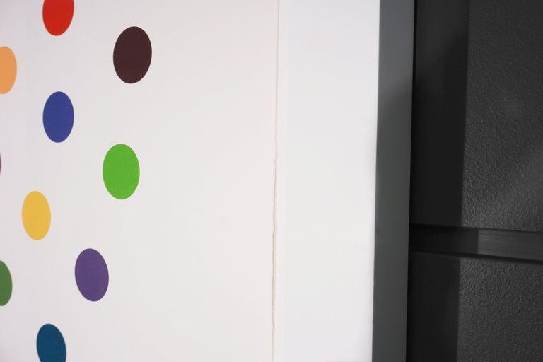 Damien Hirst, Multi-color 'Spots' Etching, 2004 For Sale 5